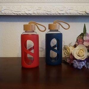 Hd Designs Outdoors Glass Water Bottles 18 fl oz